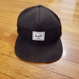 Herschel Supply Co. Hat Black Well Traveled Snapbk
